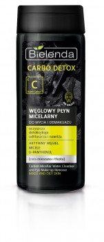 Угольная мицеллярная вода для умывания и снятия макияжа (Carbo Detox), Bielenda