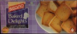 Пшеничное печенье с жаренными семенами карамболя Ajwain Cookies, Bikano