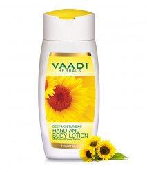 Увлажняющий лосьон для рук и тела Подсолнух, Vaadi Herbals