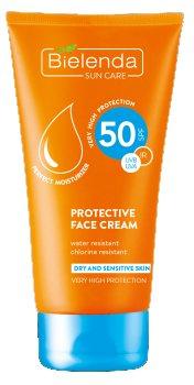 Cолнцезащитный крем для лица SPF 50 (SUN CARE), Bielenda