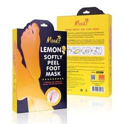 Маска-пилинг для ног с экстрактом Лимона (Lemon Softly Peel Foot Mask), Moods
