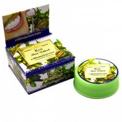 Тайская зубная паста-таблетка с экстрактом Кои (Koi), Rochjana