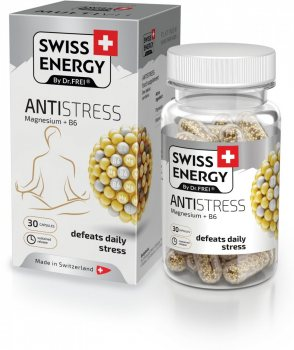 Антистресс Магний + В6 (Antistress Magnesium + B6), Swiss Energy