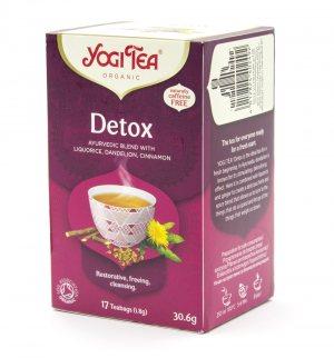Аюрведический йога чай Детокс (Detox), Yogi tea