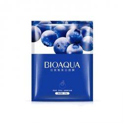 Увлажняющая тканевая маска с экстрактом черники (Blueberry Facial Mask), (BQY3529), Bioaqua