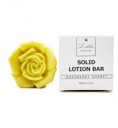 Натуральный твердый лосьон для тела Малиновый сорбет (Solid Lotion Bar Raspberry Sorbet), Le delice