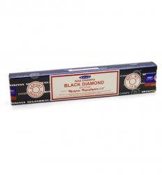 Благовония Чёрный алмаз (Black Diamond incense), Satya