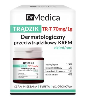 Дерматологический крем анти-акне Dr Medica, Bielenda