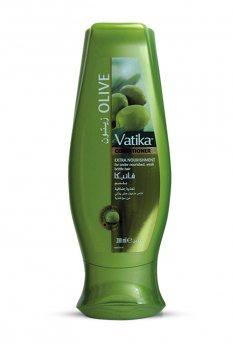 Кондиционер с оливками для слабых и ломких волос, Vatika Dabur