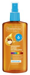 Аргановое масло для загара SPF 6 (Bikini), Bielenda