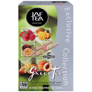 Чай Jaf Tea Grean Tea Sensational Fruit Melange в пакетиках