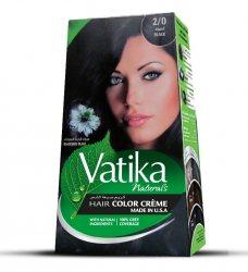 Крем-краска для волос с черным тмином Vatika Naturals, Черный