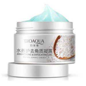 Гель-эксфолиант для лица с рисовым экстрактом и фруктовыми кислотами (Exfoliating Gel), Bioaqua