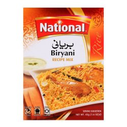 Смесь специй для приготовления риса Бирьяни (Spice Mix for Biryani), National