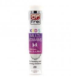 Мультивитамин + Кальций для детей (Kids Multivitamin + Calcium), Dr. Frei