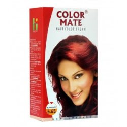 Крем-краска для волос 6.65 Color Mate, Бургунд
