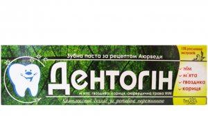 Зубная паста аюрведическая Дентогин, Triuga