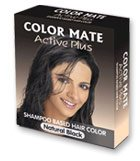 Краска-шампунь Color Mate Active Plus, Натуральная Черная