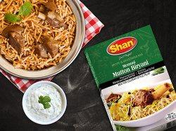 Специя для приготовления Бирьяни с бараниной Mutton Biryani, Shan