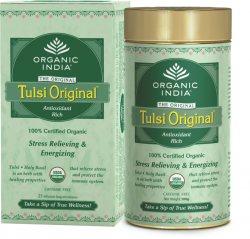 Лечебный аюрведический чай Tulsi Original, Organic India