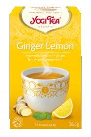 Аюрведический йога чай Ginger Lemon, Yogi Tea