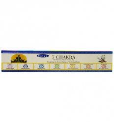 Благовония индийские 7 чакра (7 Chakra incense), Satya