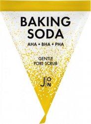 Очищающий скраб для лица с кислотами для сужения пор (Baking Soda Gentle Pore Scrub), J:ON