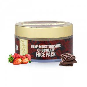 Глубоко увлажняющая маска для лица с шоколадом, Vaadi Herbals