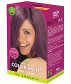 Натуральная краска для волос без аммиака Color Mate, Махагони