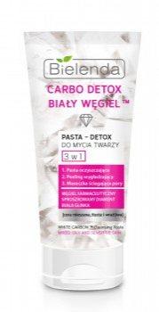 Паста детокс для умывания 3 в 1 (Carbo Detox White), Bielenda
