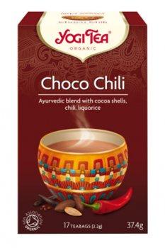 Аюрведический чай Шоколадный Чили (Choco chili), Yogi Tea