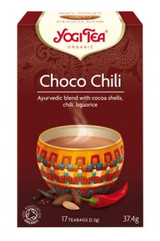 Аюрведический чай Чоко Чили (Choco chili), Yogi Tea