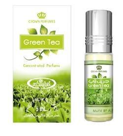 Арабские масляные духи Green Tea, Al Rehab