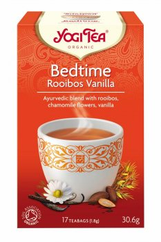 Аюрведический йога чай Bedtime Rooibos Vanilla, Yogi tea