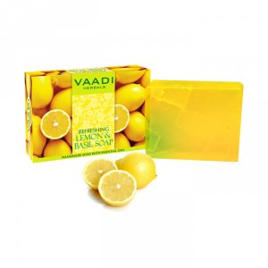 Натуральное мыло Лимон базилик, Vaadi