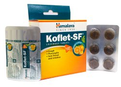 Леденцы от кашля без сахара Кофлет (Koflet-SF (Sugar-Free)), Himalaya Herbals