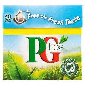 Чай free the fresh taste, Pg tips