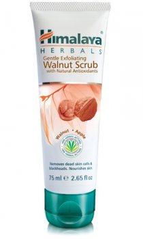 Мягкий скраб с грецким орехом (gentle exfoliating walnut scrub), Himalaya Herbals
