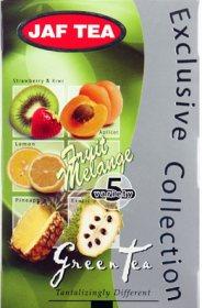 Чай Jaf Tea Grean Tea Fruit Melange в пакетиках
