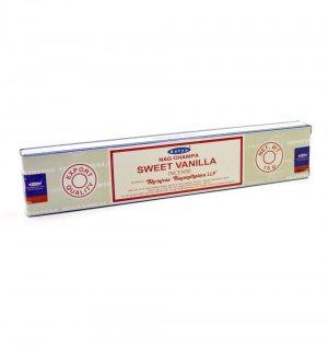 Благовония Сладкая Ваниль (Sweet Vanilla incense), Satya