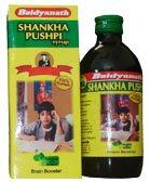 Шанкха пушпи сироп (Shankha Pushpi), Baidyanath