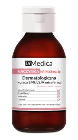 Дерматологическая успокаивающая мицеллярная эмульсия для лица анти-купероз Dr Medica, Bielenda