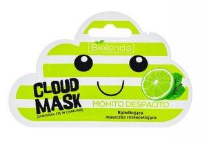 Маска-облачко для лица осветляющая Mohito, Bielenda