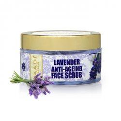 Антивозрастной скраб для лица ЛАВАНДА, Vaadi Herbals