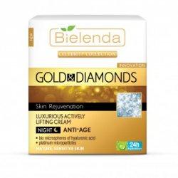 Эксклюзивный ночной крем-лифтинг Gold&Diamonds, Bielenda