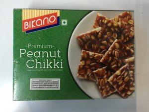 Кранчи с арахисом и пальмовым сахаром Peanut Chikki, Bikano