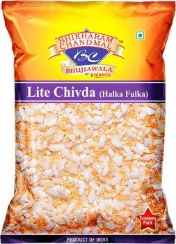 Натуральная закуска BHIKHARAM CHANDMAL Lite Chivda (Halka fulka)