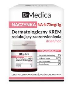 Дерматологический крем уменьшающий покраснения анти-купероз Dr Medica, Bielenda