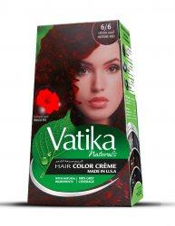Крем-краска для волос с экстрактом гибискуса Vatika Naturals, Интенсивный красный