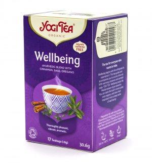 Аюрведический йога чай Благополучие (Wellbeing), Yogi tea